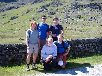 Jane Lavender, James & Phil Hodgson, Fran King & Richard Richardo