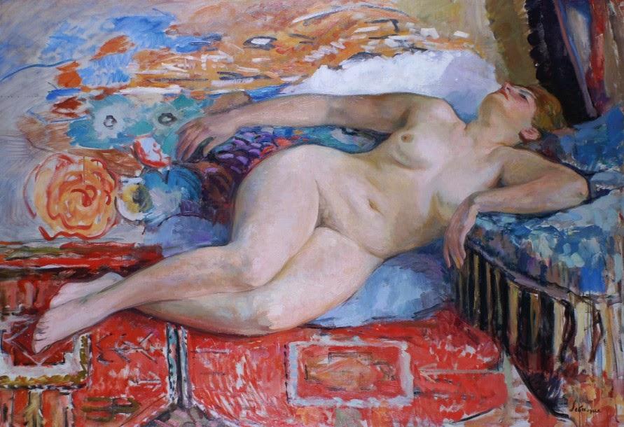 Henri Lebasque - Nude