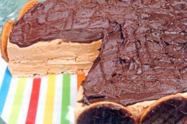 Torta Holandesa com Doce de Leite