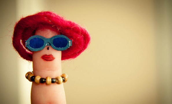 Finger photography