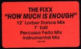 The Fixx - How Much Is Enough