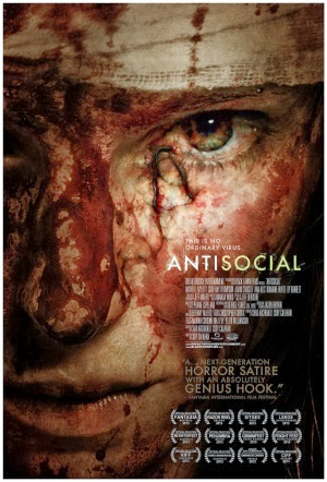Filme Poster Antisocial HDRip XviD & RMVB Legendado