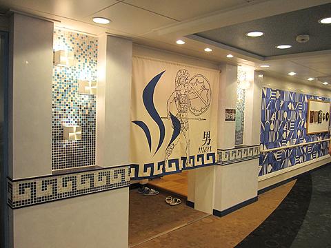 太平洋フェリー「新いしかり」展望大浴場入口