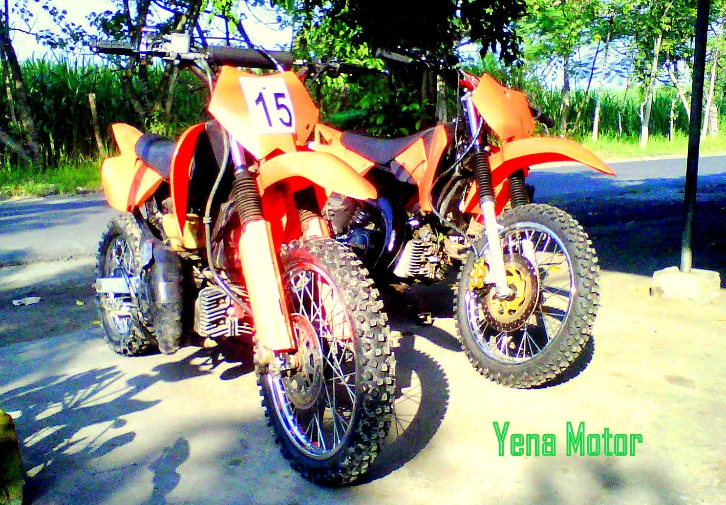 Honda Blade Modifikasi Trail