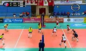 Mejores momentos Peru Eslovenia Mundial juvenil voley 1 Agosto 2013