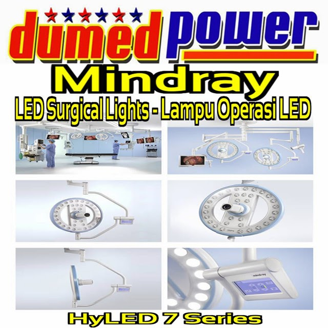 Lampu-Operasi-LED-Surgical-Lights-HyLED-6-7-9-8600-HyLite-6-Mindray