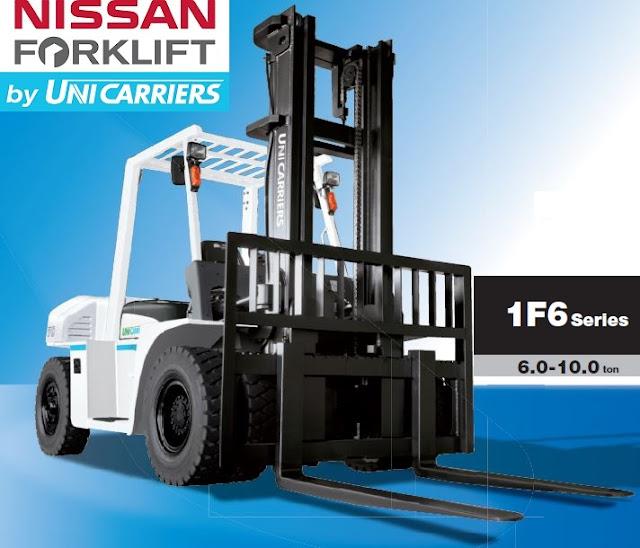 Diesel forklift 6 - 10 tons - Unicarriers Japan