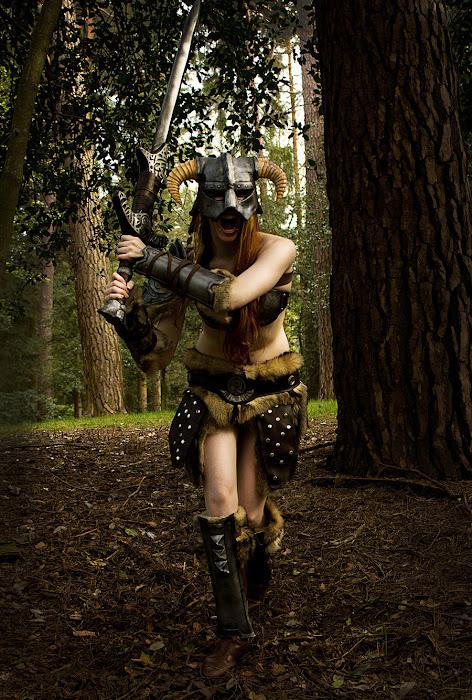 Laura Jansen và bộ ảnh cosplay Skyrim cực chất - Ảnh 3