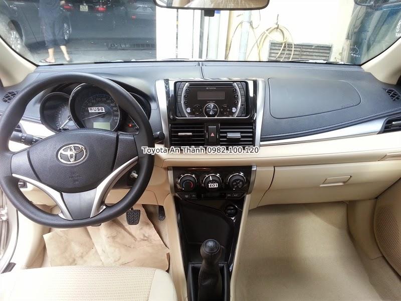 Bán Xe Toyota Vios 2015 Mới 1.5E Số Sàn Khuyến Mãi Giá Ưu Đãi 6