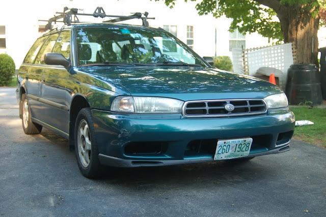 Subaru Dr-agon thingy   its green! - Mighty Car Mods