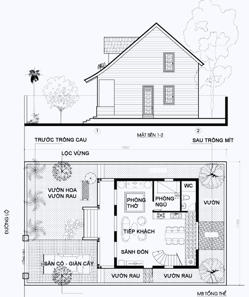 Xu hướng thiết kế nhà biệt thự sân vườn - 02