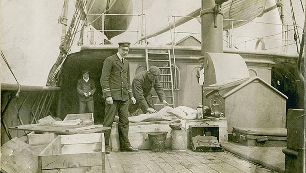 Tripulação do CS Mackay-Bennett ficou encarregada de recolher a maioria dos corpos e enviá-los a Halifax