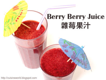 Berry Berry Juice