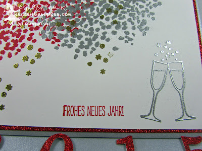 stampin up, making spirits bright, new year, prosit, neujahr, silvester