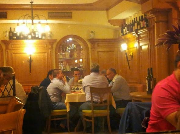 Ioan Cătălin Nechifor, Stefan Alexandru Baisanu, Ion Lungu, Silviu Prigoana, Honorius Prigoana Junior la Sonnenhof - 24 septembrie 2014