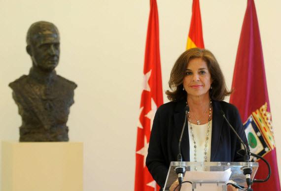 Declaración institucional de la alcaldesa de Madrid por la abdicación de Juan Carlos I