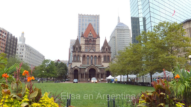 Trinity Church, Tour Hancock, Boston,  Elisa N, Blog de Viajes, Lifestyle, Travel