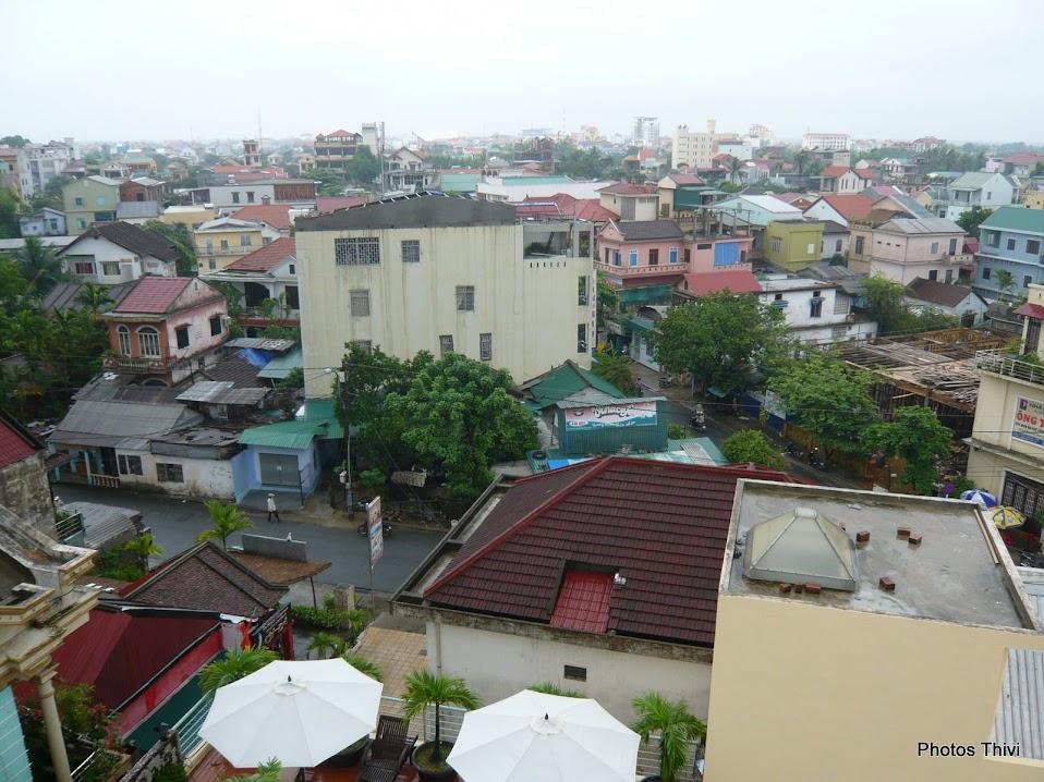 Vue sur Huê depuis le New Star Hotel