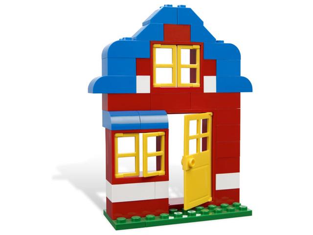 レゴ 基本セット・青いコンテナ 4626