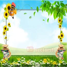 vector khung hoa