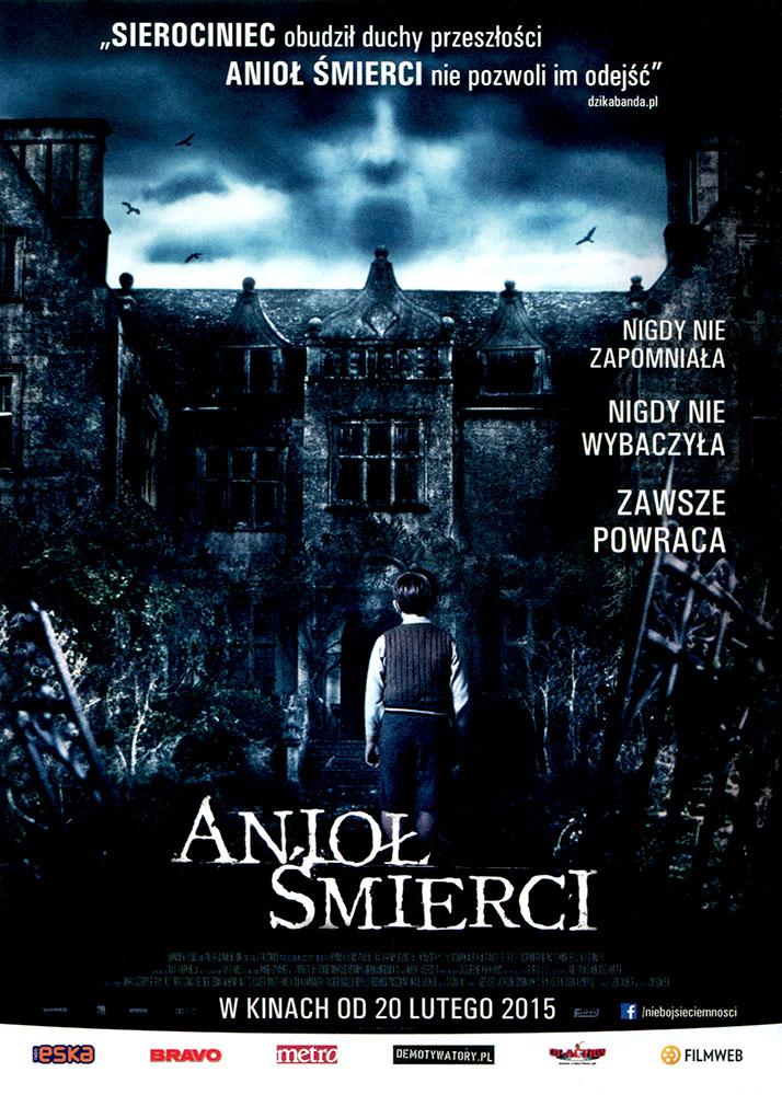 Ulotka filmu 'Anioł Śmierci (przód)'