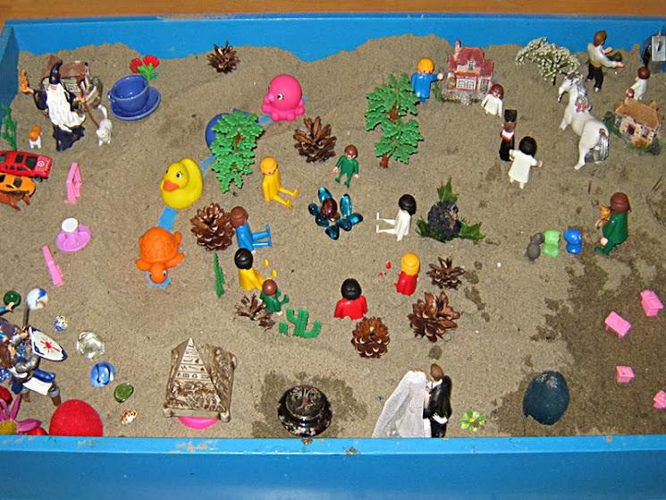ящик для песочной терапии
