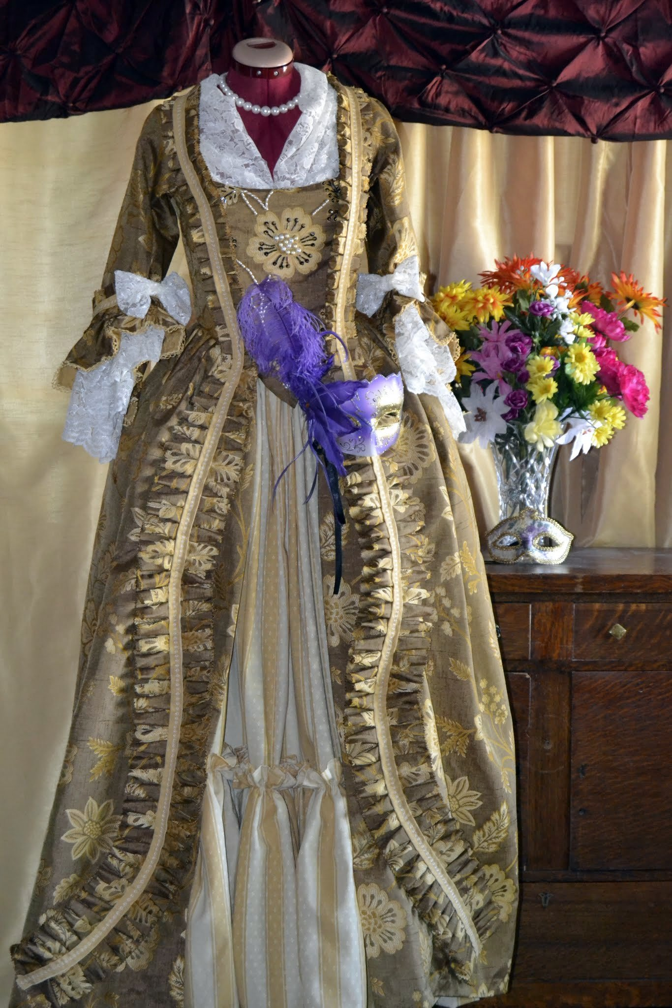 Robe du xviii siecle