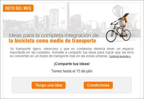 Ideas para integrar las bicis en las ciudades - pincha para acceder