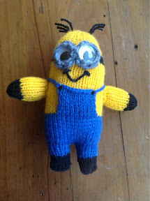 Knitting Pattern Minion Toy : At Home with the Lunchbox Guru: