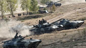 Русская армия в атаке