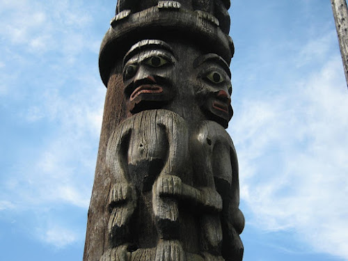 Family Totem, Royal BC Museum