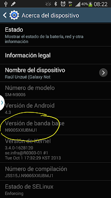 Firmware Note 3