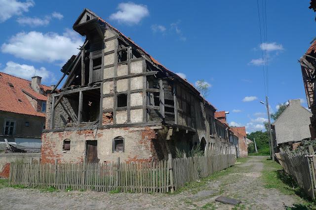 Gerdauen, Железнодорожный, орденские дома