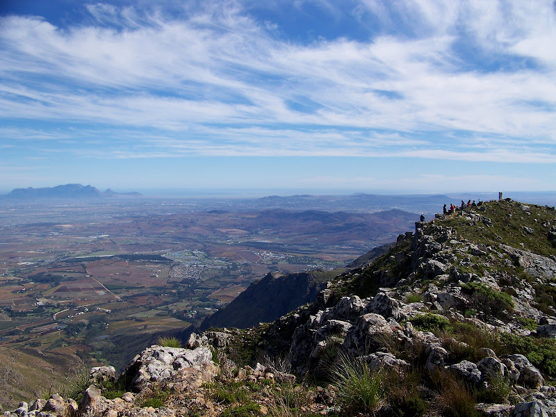 Table Mountain and Haelkop