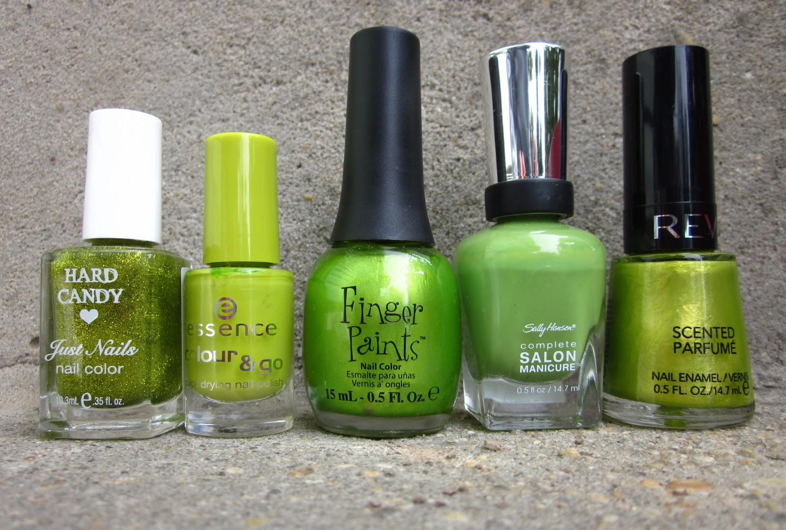 Nails by a Nursing Student: Green Nail Polish Heaven!!!