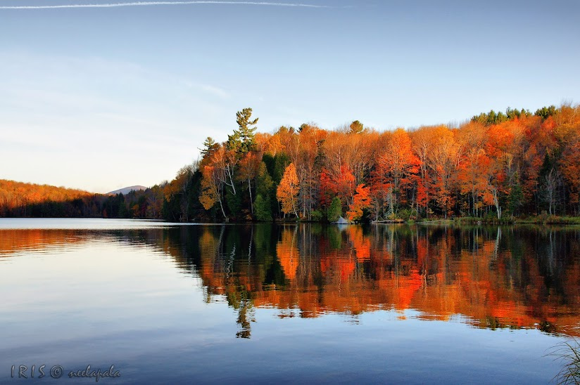 Kent Pond,Fall Colors,