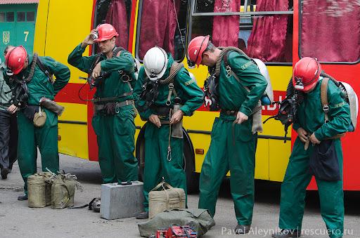Команда горноспасателей 6 ВГСО