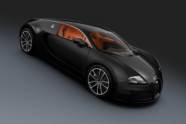 Bugatti Veyron front side