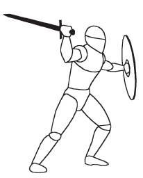 В идеале, стойка бойца будет отражать расположение его центра тяжести, ловкость и степень равновесия.