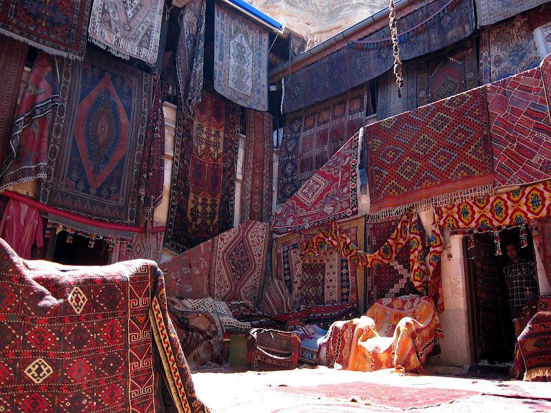A rug emporium in Göreme