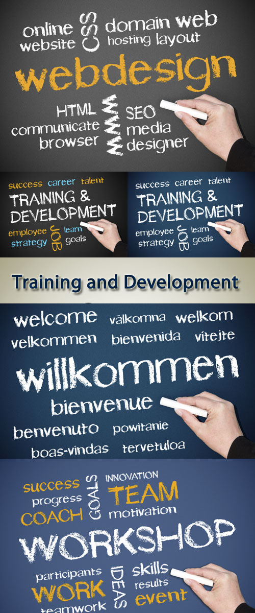 Stock Photo: Training and Development