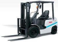 Xe nâng diesel 1.5 – 3.5 tấn TCM Nhật Bản