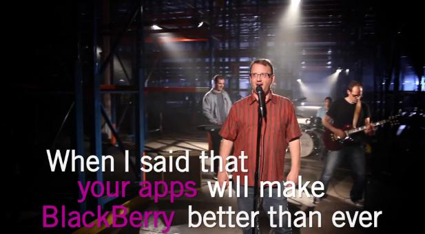 Blackberry Is Gonna Keep On Loving Us