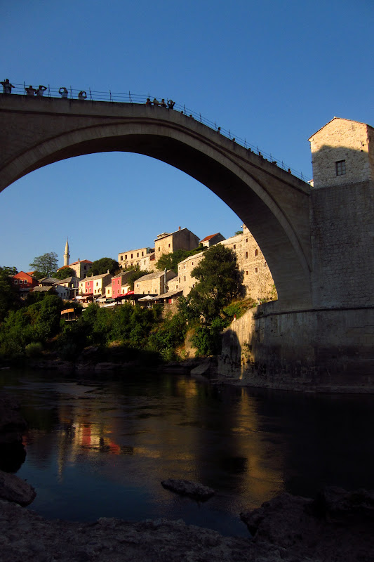 Stari Most from the banks