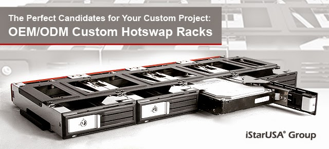 Custom Hotswap Racks for Your OEM/ODM Project