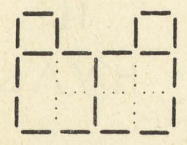 Головоломка со спичками из старинной книги - ответ