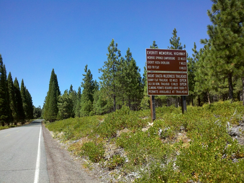 Mount Shasta Summit Century • Everitt Memorial Highway