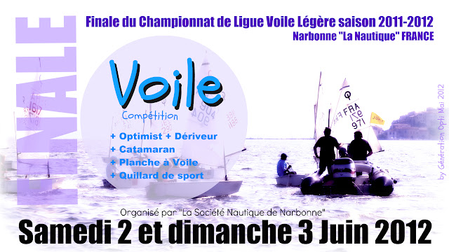 Optimist Championnat_de_Ligue_2012 Narbonne La_Nautique CNN Voile