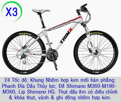 xe dap the thao trinx x3 2014