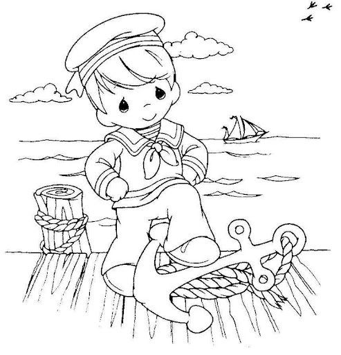 Dia De La Marina Para Colorear Imagui